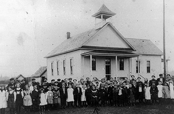 1900s early fords prairie church