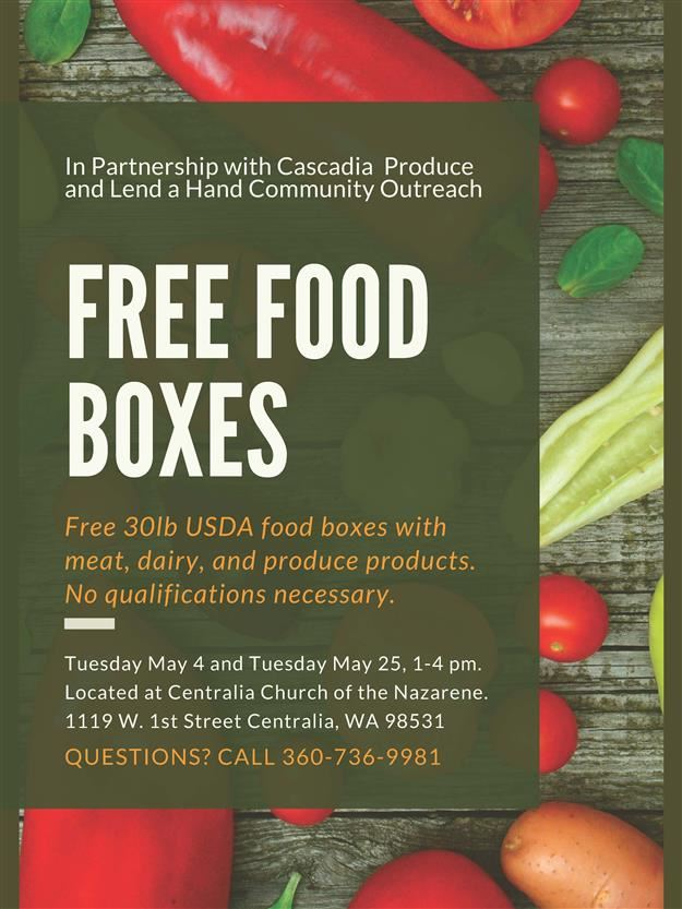 Free Food Box Event