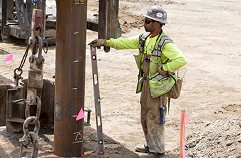 Piling Work Begins at Jefferson Lincoln