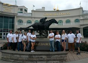 Team at Churchill Downs